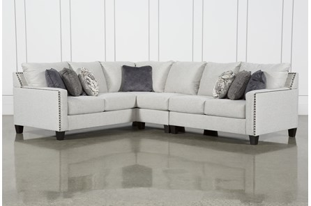 Chappell 3 Piece Sectional With Left Arm Facing Sofa