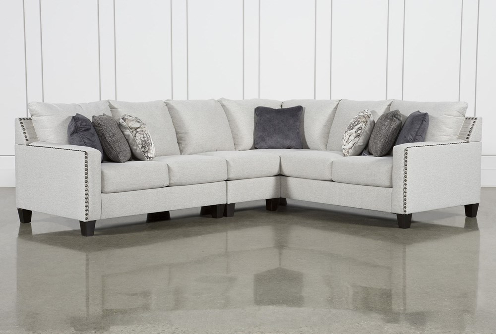 Chappell 3 Piece Sectional With Left Arm Facing Loveseat