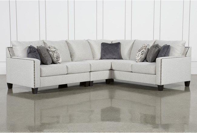 "Chappell 3 Piece 117"" Sectional With Left Arm Facing Loveseat - 360"