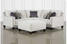 Chappell 2 Piece Sectional W/ RAF Loveseat and Ottoman