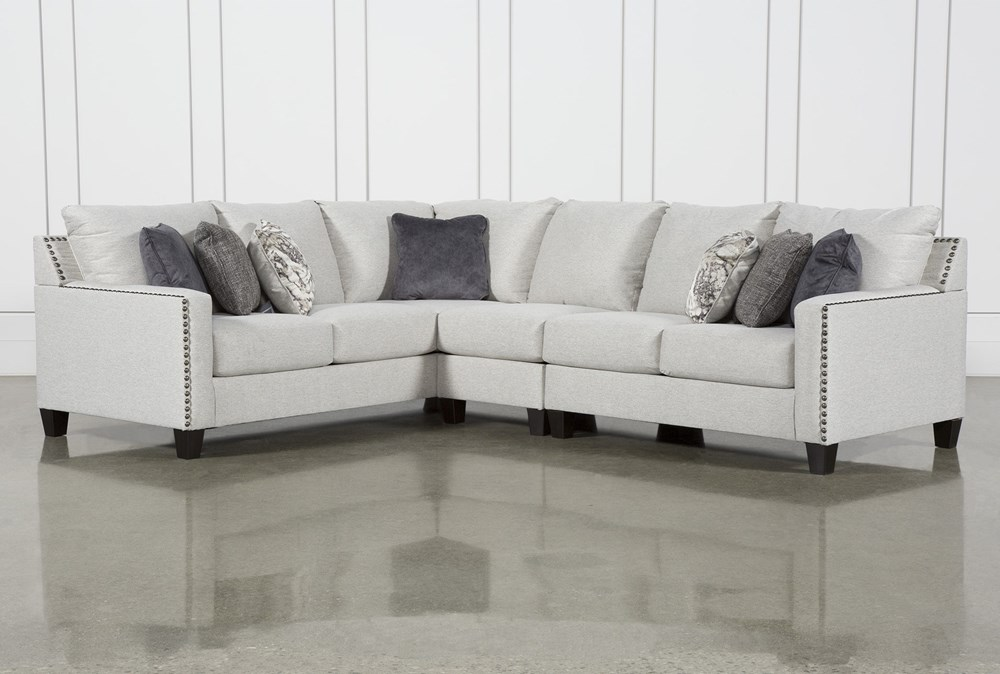 Chappell 3 Piece Sectional with Right Arm Facing Loveseat