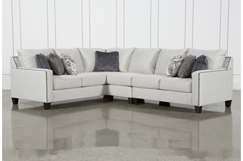 "Chappell 3 Piece 117"" Sectional with Right Arm Facing Loveseat"