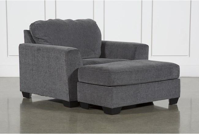 Banks Chair & Ottoman - 360