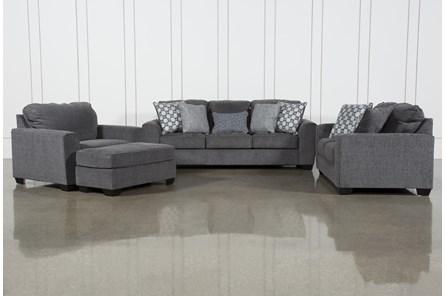 Banks 4 Piece Living Room Set With Queen Sleeper