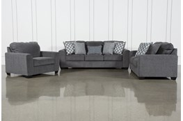 Banks 3 Piece Living Room Set With Queen Sleeper