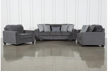 Banks 3 Piece Living Room Set With Queen Sleeper