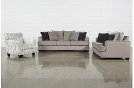 Bray 3 Piece Living Room Set With Queen Sleeper