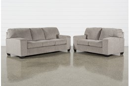 Oates 2 Piece Living Room Set