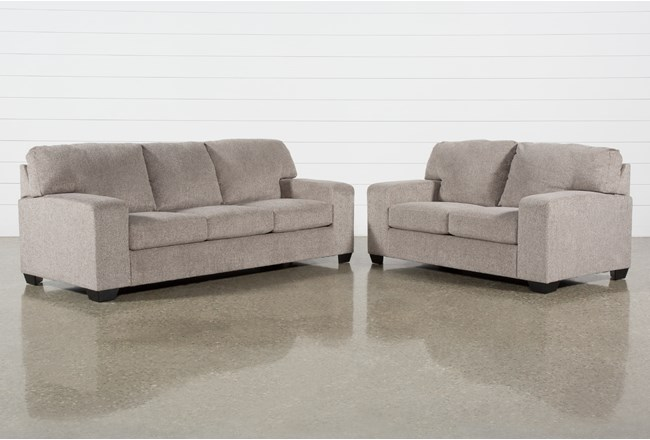 Oates 2 Piece Living Room Set With Queen Sleeper - 360