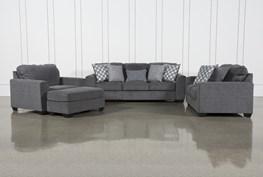 Banks 4 Piece Living Room Set