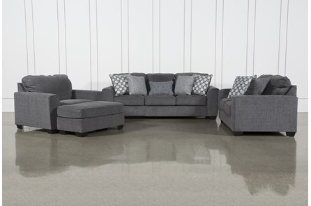 Banks 4 Piece Living Room Set