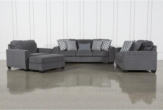 Banks 4 Piece Living Room Set - 360
