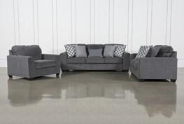 Banks 3 Piece Living Room Set