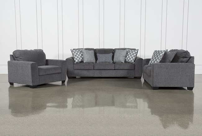 Banks 3 Piece Living Room Set - 360