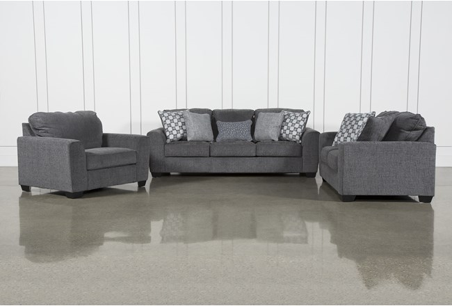 Banks 3 Piece Living Room Set - 360