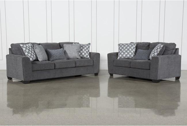 Banks 2 Piece Living Room Set - 360
