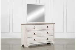 Cassie Dresser and Mirror