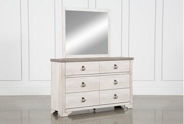 Cassie Dresser and Mirror