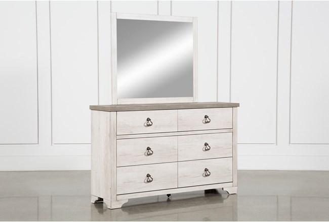 Cassie Dresser and Mirror - 360