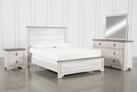 Cassie California King 4 Piece Bedroom Set