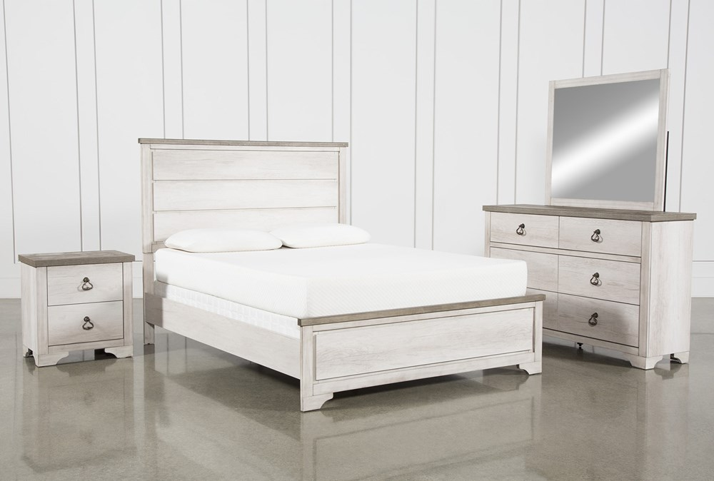 Cassie Eastern King 4 Piece Bedroom Set