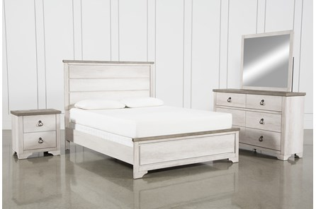 Cassie Eastern King 4 Piece Bedroom Set - Main