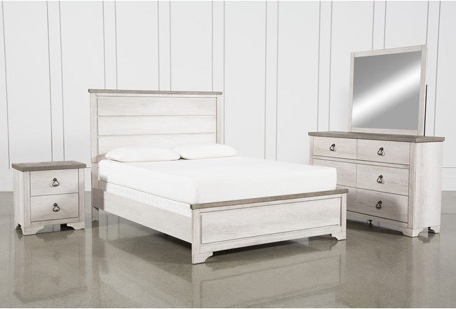 Cassie Eastern King 4 Piece Bedroom Set - 360