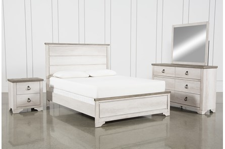 Cassie Queen 4 Piece Bedroom Set
