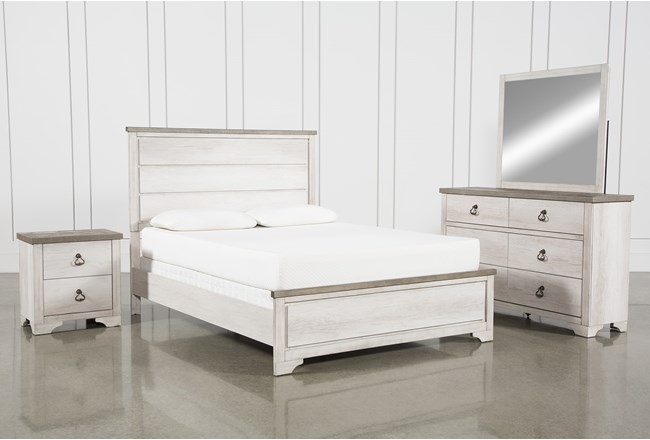 Cassie Queen 4 Piece Bedroom Set - 360