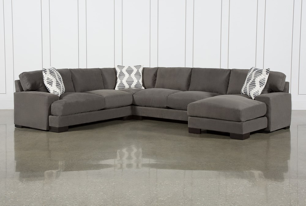 Aidan II 4 Piece Sectional With Right Arm Facing Chaise