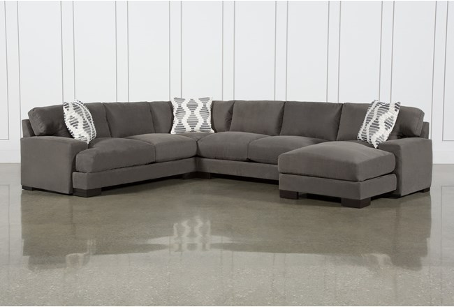 Aidan II 4 Piece Sectional With Right Arm Facing Chaise - 360
