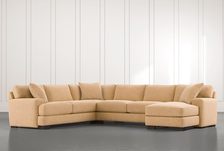 Aidan II Yellow 4 Piece Sectional