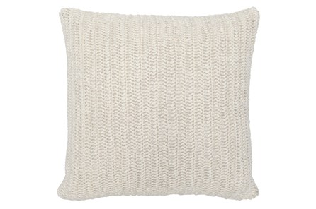 Accent Pillow-Ivory Stonewashed Belgian Linen 22X22