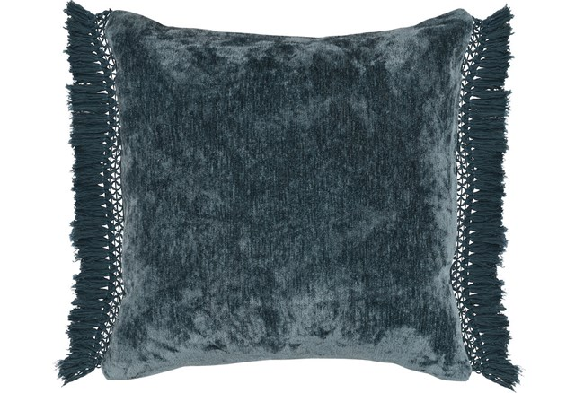 Accent Pillow-Juniper Chenille Fringe 20X20 - 360