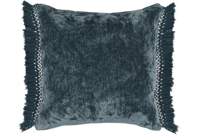 Accent Pillow-Juniper Chenille Fringe 20X20 - 360