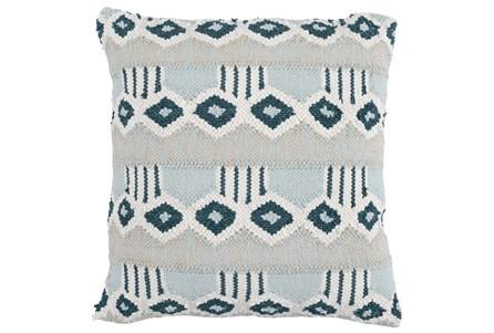 Accent Pillow-Juniper Diamond Flatweave 22X22