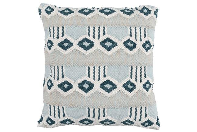 Accent Pillow-Juniper Diamond Flatweave 22X22 - 360
