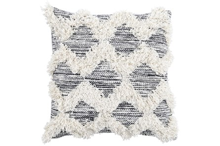 Accent Pillow-Co Maeve Black/Ivory 20X20