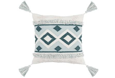 Accent Pillow-Juniper Diamond Tassels 20X20