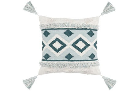 Accent Pillow-Juniper Diamond Tassels 20X20
