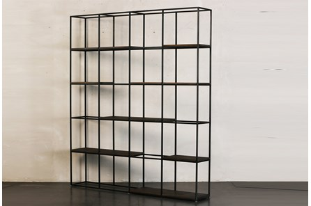 Large Multi Shelf Bookcase