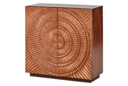 OTB COPPER STARBURST CABINET