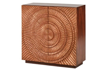 COPPER STARBURST CABINET