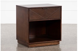 Rhodes 1 Drawer Nightstand