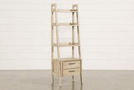 """Allen 71"""" Bookcase Pier With 2 Drawers"""