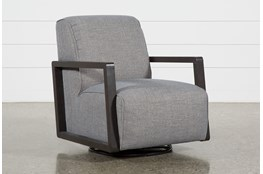 Kathleen Dark Grey Glider Chair