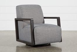 Kathleen Dark Grey Glider Chair