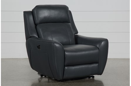 Bridget Grey Power Wallaway Recliner With Power Headrest And Lumbar