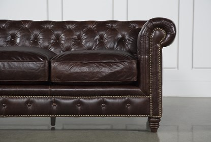 Outstanding Churchill Leather Sofa Creativecarmelina Interior Chair Design Creativecarmelinacom