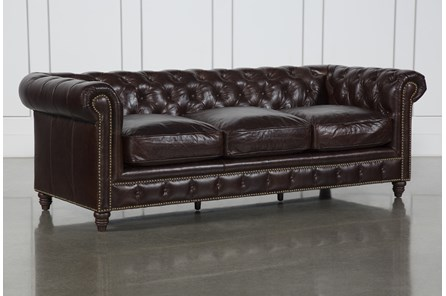 Churchill Leather Sofa